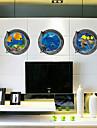 3d väggdekorationer väggdekaler stil undervattensvärlden pvc väggdekorationer