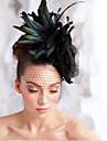 handgjorda bröllops fjäder hår fascinator stycken Fascinators 003