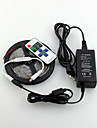 Waterproof 5M 600X3528 Smd Led Strip Light and 11Key RF Controller and US 12V6A Power supply