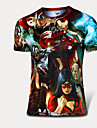 Course Tee-shirt / Costume de compression/Sous maillot Homme Manches courtesRespirable / Sechage rapide / Vestimentaire /