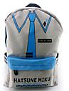 Väska Inspirerad av Vocaloid Hatsune Miku Animé/ Videospel Cosplay Accessoarer Väska / ryggsäck Grå Nylon Man / Kvinna