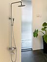 SUS304 Stainless Steel Rain Shower Faucet Set Shower Tap Mixer
