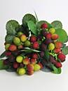 """11 """"hög kvalitet konst waxberry för heminredning imitation frukt 1 knippe"""