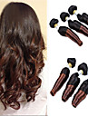 "3Pcs/Lot 8""-24"" Brazilian Virgin Hair,Color 1b/30 Funmi Hair ,Ombre Hair Extensions, Factory Wholesales Hair Bundles."