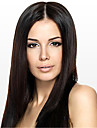 Women Lace Front Wig 10inch~24inch India Hair Color(Black Brown #1 #1B #2 #4) Yaki Straight Hair
