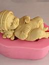 coacere Mold Pat pentru dormit tort pentru Cookie pentru Pie Silicon Nelipicios Calitate superioară #D
