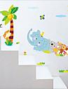 Animaux / Botanique / Romance / Nature morte / Mode / Floral / Fantaisie Stickers muraux Stickers avion Stickers muraux decoratifs,PVC