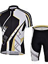 CHEJI® Cykeltröja med shorts Herr Kort ärm CykelAndningsfunktion / Snabb tork / Ultraviolet Resistant / Isolerad / Fuktgenomtränglighet /
