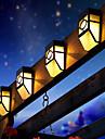 2 dirigees pont solaire blanc de style mission accent lumieres chaudes