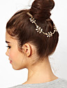 Women Alloy Leaves Hair Combs/Head Chain With Casual Headpiece