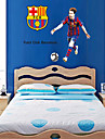stickers muraux Stickers muraux, le style barcelona messi pvc stickers muraux