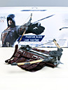 Vapen Inspirerad av Assassin\'s Creed Assassin Animé Cosplay Accessoarer Gauntlets Vit PVC Man / Kvinna