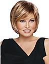derniere bob de mode perruque courte doux naturel brun dore droite avec le point culminant blonds