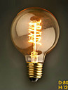 ecolight® Ecolite tm e27 40w 3700k varmvit loft retro industrin glödlampa Edison glödlampa (AC220 ~ 265V