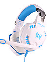 varje g2100 hörlurar wired 3.5mm över örat spelvibrations volymkontroll med mikrofon för PC