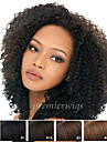 12\'\'-26\'\'Summer Fashion Long Cheap Afro Kinky Curly Indian Virgin Hair Lace Front Wigs With Baby Hair For Black Women