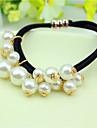 elastiques Accessoires pour cheveux Perle Perruques Accessoires Pour femme
