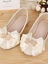 Platt sko ( Beige ) - i Komfort/Rund tå - till FLICKA