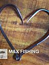 Fiske krokar Fiske-100 st Metall / Stål legering / Karbon-M&X Sjöfiske / Färskvatten Fiske / Generellt fiske / Trolling & Båt Fiske