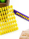 alfabetet brev nummer kex cookie cutter press stämpel präglings kakform (26 bokstäver + siffror)