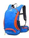 15 L Backpacker-ryggsäckar Rese Duffelväska Camping Klättring Resa Cykling Utomhus Vattentät Bärbar MultifunktionellGrön Röd Svart Blå