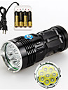 3 Mode 9800 Lumens LED Flashlights Cree XM-L2