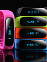 ti cc2541 v4.0ble bluetooth 4.0 smarta watch (safirglas, pedometer, hjärtfrekvens, vattentät, anti-förlorade)
