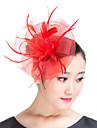 Femei Pană Poliester Diadema-Nuntă Ocazie specială Informal Exterior Pălărioare 1 Bucată