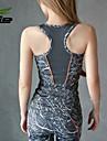 Yoga Hauts/Tops Pantalon + Tops Respirable / Materiaux Legers Extensible Vetements de sport Femme - HTLD Yoga