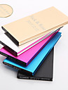 Cadeau personnalise - Noir / Bleu / Violet / Dore / Argente  - en Aluminium