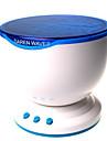 hry® ledde nattlampa projektorhavsblått havsvågor projektorlampan med minihögtalare