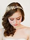 Europa och Förenta staterna den nya bruden high-end däck ren manuell hår hoop guld kristall diamant krona