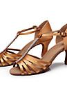 Zapatos de baile(Negro / Marron) -Latino-Personalizables-Tacon Personalizado