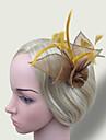 Women\'s Feather/Net Headpiece - Wedding/Party Simple Fascinators 1 Piece