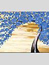 olja målningar pengar träd stil, canvas material med sträckt ram redo att hänga storlek: 60 * 90 cm.
