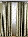 Två paneler Rustik / Modern / Nyklassisistisk / Medelhavet / Europeisk Blommig/Botanisk / Vinranka Grå / Elfenben / Purpur Bedroom