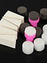 15st dag manikyr svamp nail art verktyg för övertoningsfärgen nail art