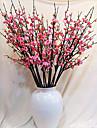 Gren Silke Plast Plommon Bordsblomma Konstgjorda blommor 98x2x2cm