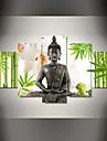 Religion & Spiritualite Toile Cinq Panneaux Pret a accrocher , Format Horizontal