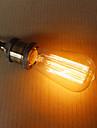 e27 60W st58 rak tråd nippel edison volfram konst belysning dekoration ljuskälla