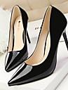 Pantofi pentru femei - Imitație de Piele - Toc Stiletto - Tocuri / Vârf Ascuțit / Vârf Inchis - Pantofi cu Toc - Rochie -Negru / Verde /