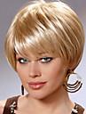 vackra bekymmersfri kort mänsklig jungfruligt remy hand bunden främsta kvinnliga Capless peruker