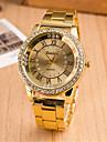Women\'s Watch L.WEST Fashion Diamonds Roman Dial Steel Band Quartz Watch Cool Watches Unique Watches