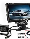 renepai® monitor HD de 7 pulgadas + 170 ° hd camara de vision posterior del coche camara resistente al agua la longitud del cable de 10m,