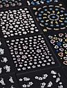 30pcs - Autocollants 3D pour ongles / Bijoux pour ongles - Doigt - en Fleur / Adorable - 65mm*55mm
