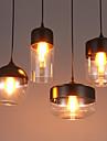 Contemporain / Traditionnel/Classique / Rustique / Vintage LED Verre Lampe suspendueSalle de sejour / Chambre a coucher / Salle a manger