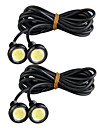 4 st ledde eagle eye bakre backup back bakljus lampa 3W 12v