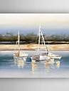 Peint a la main Paysages AbstraitsModern Un Panneau Toile Peinture a l\'huile Hang-peint For Decoration d\'interieur
