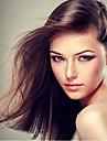 18inch volle Spitzehaarperuecken gerade Menschenhaar-malaysisches reines Haar 100% Echthaar volle Spitzeperuecken fuer Frauen