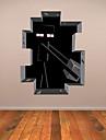Tecknat / 3D Wall Stickers Väggstickers Flygplan Dekrativa Väggstickers,PVC Material Kan tas bort Hem-dekoration vägg~~POS=TRUNC